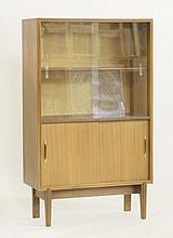 A teak bookcase,  designed by Robert Heritage