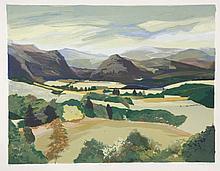 *Evelyn Pottie (b.1945)  'RIVER FINDHORN SOUTH