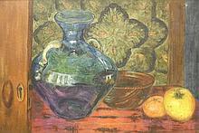 *Elvic Steele (1920-1997)  'THE GLASS VASE';