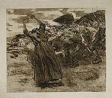 *Käthe Kollwitz (German, 1867-1945)  LOSBRUCH