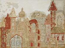Indian School, 20th century  STUDIES OF BUILDI