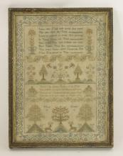 An early 19th century sampler