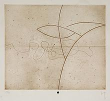 *Victor Pasmore CH CBE (1908-1998) UNTITLEDEtching and aquatint