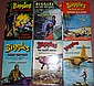 JOHNS, W E: Four BIGGLES first editions, and two