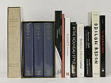 A large quantity of art reference books    (qty)