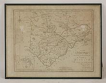 Comitatus Rotelandiae, Tabula Nova & Aucta, sold by A Swale and A Churchil, handcoloured, 28 x 36cm; another map of Rutlandshire, published by Sayer and Bennett; and one other, 'The Wards of Coleman Street and Bassishaw', for Noorthoucks' History of