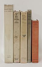LAWRENCE, D H: 1. Love Poems and Others. L, Duckworth, 1913, First edn., first issue, with