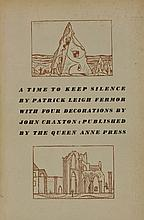 FERMOR, P L:  A Time to Keep Silence,  Queen Anne Press, 1953.  Limited edn.  Number 199 of 500 copies. DW.  CONDITION: VG+