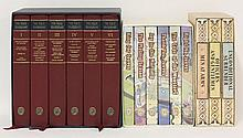 FOLIO SOCIETY, ETC: 1. Caldecott-Baird, D: The Expedition in Holland. L, Seeley, 1976, signed and numbered, limited edition 41 of 250, slipcase. CONDITION: Fine; 2. Carrington, C (edit.): Kipling's Horace. L, Methuen, 1978, signed and numbered,