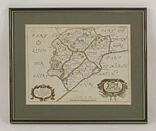 R Blome,  A Mapp of the County of Rutland with its hundreds,  handcoloured,  23 x 23cm,  A 'miniature Speed' map of Rutlandeshire,  handcoloured,  9.5 x 13.5cm,  and a map of Rutlandshire by H Moll,  handcoloured,  20 x 31cm   (3)