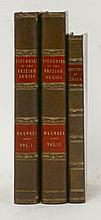1.  MAXWELL, W: The Victories of the British Armies.  Two volumes. 1839;  2.  SINCLAIR, D: The History of India.  1887, con. calf  (3)