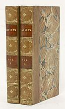 COELEBS [Hannah More]:  In Search of a Wife. Comprehending Observations on Domestic Habits and Manners, Religion and Morals,  Two volumes.  1809.  Half calf    (2)