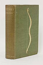 JOYCE, James: Ulysses, L, John Lane, The Bodley Head, 1936, 1st. UK edition, first impression, limited edn, # 995 of 1000 copies on japon vellum. 4to. in the original green buckram with the Homeric bow device designed by Eric Gill to the front board