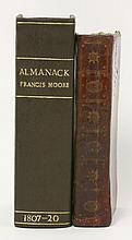1.  THE BOOK OF COMMON PRAYER, 1784;  2.  Plus: Almanack     (2)