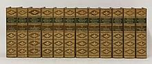 SCOTT, W:  Waverley Novels,  Twelve volumes. 1883.  Half leather.  CONDITION: VG    (12)