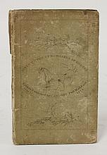 Hints to purchasers of horses:  C Knight, 1825.  Original boards.  CONDITION: Little worn and spine chipped with small loss; o/w G+