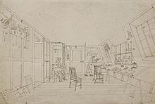 Augustus Charles Pugin (1762-1832)with possible a