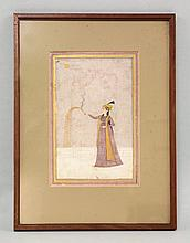 An Indian Miniature Painting, Mughal, late 18th