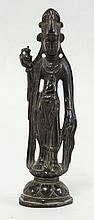 An Indian bronze Immortal, 18th century, of
