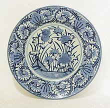 An early Arita blue and white Dish, late 17th