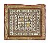 An unusual beadwork Panel, late 19th century,