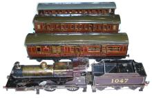 Bing for Bassett-Lowke 1-gauge live steam 4-4-0 Locomotive & Tender