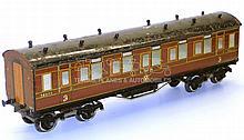 Leeds O-gauge LMS 3rd Class Passenger Coach