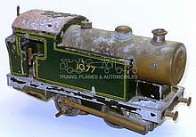 Scorpion O-gauge 0-4-0 Live Steam Locomotive
