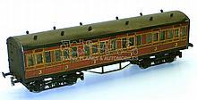 Leeds O-gauge LMS 1st/3rd Suburban Passenger Coach