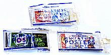 Three packets of post-war O-gauge Posters