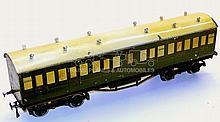 Leeds O-gauge SR 1st/3rd Suburban Passenger Coach