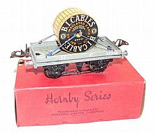 Hornby Series O-gauge Flat Truck with Cable Drum