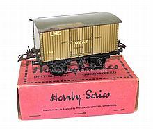 Hornby Series O-gauge pre-war LMS Meat Van