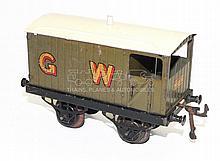 Hornby Series O-gauge pre-war Brake Van