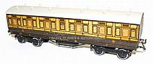 Leeds O-gauge early 1920s Passenger Coach