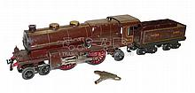 Hornby O-gauge clockwork Locomotive & Tender