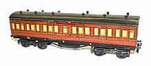 Leeds O-gauge early 1920s Midland Passenger Coach