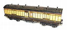 Leeds O-gauge early 1920s Full Brake Van
