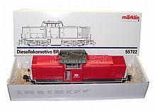 Marklin 1-gauge 55722 Diesel Locomotive