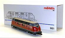 Marklin 3021 HO DB Bo-Bo Diesel Locomotive