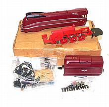 Marklin HO 3889 4-6-2 Streamlined Locomotive Kit