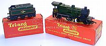 Tri-ang OO-gauge 2-rail R350 4-4-0 Locomotive & Tender