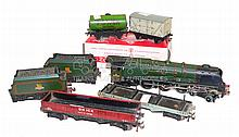 Six Hornby Dublo items