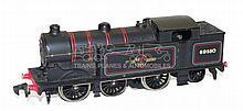Hornby Dublo 2-rail diecast 0-6-2 Tank Locomotive