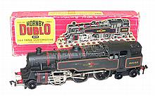 Hornby Dublo 2218 2-rail diecast 2-6-4 Tank Locomotive