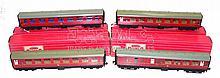Four Hornby Dublo BR Mk 1 Passenger Coaches