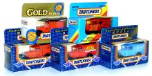 Five Matchbox Vans