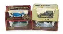 Four Matchbox Models of Yesteryear