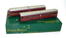 Eureka Models HO NSWGR 620/720 2-car Rail Motor Set