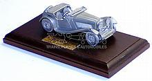 Matchbox pewter 1936 Jaguar SS100